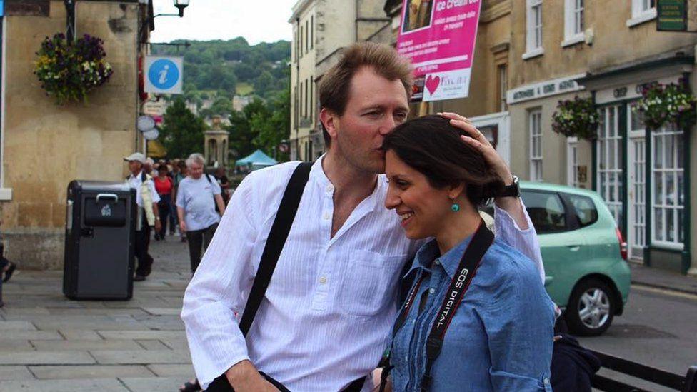 Richard Ratcliffe and Nazanin Zaghari-Ratcliffe