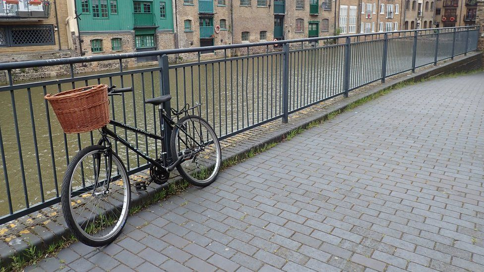 Claudia Watts' bike