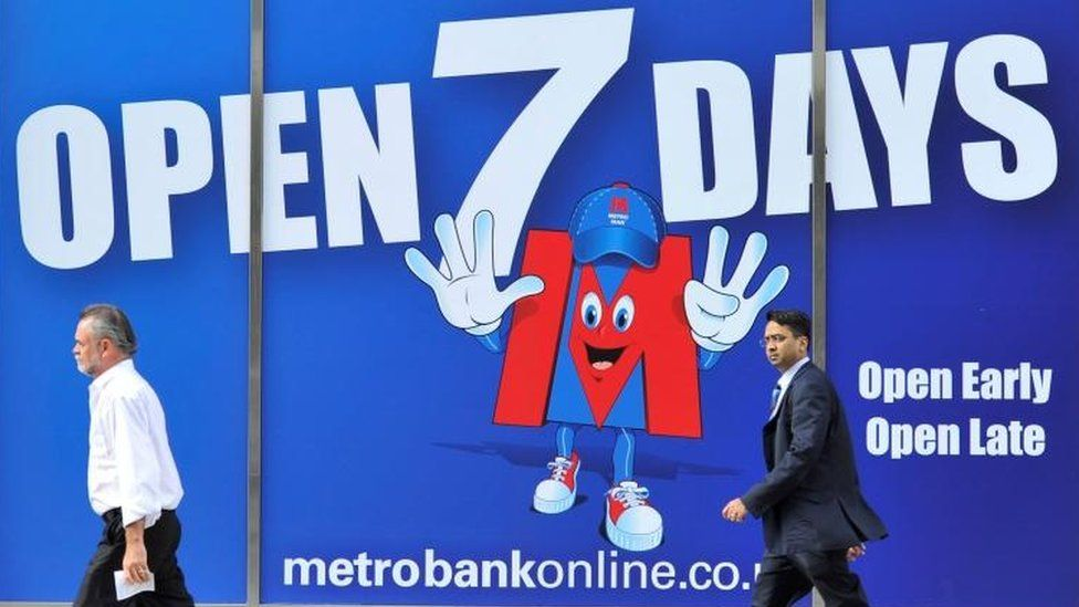 Metro Bank sign