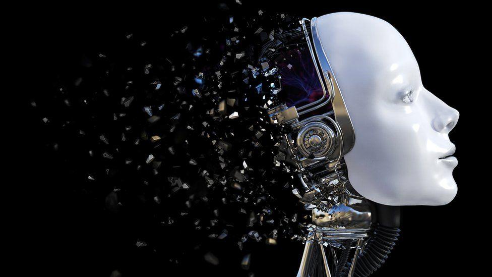 A robot head