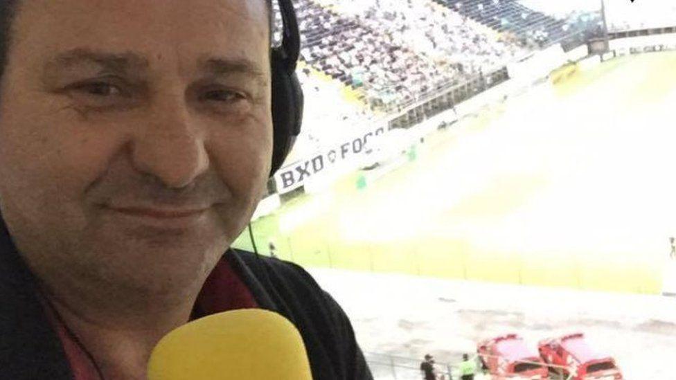 File picture of sports journalist Jacir Biavatti