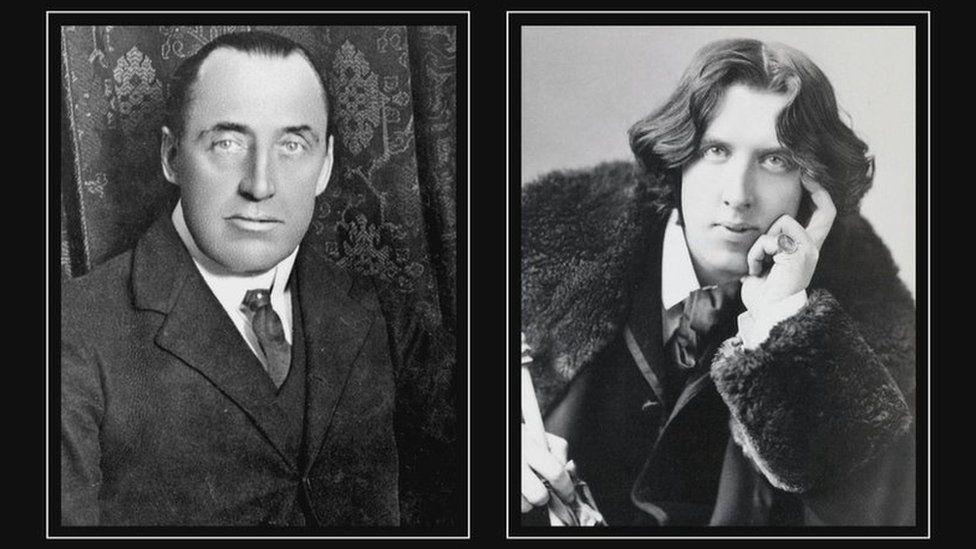 Edward Carson and Oscar Wilde