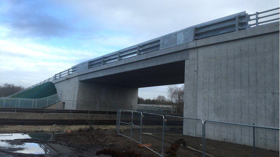 Bridge to Newbury Racecourse