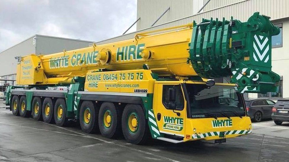 Whyte Crane Hire Vehicle