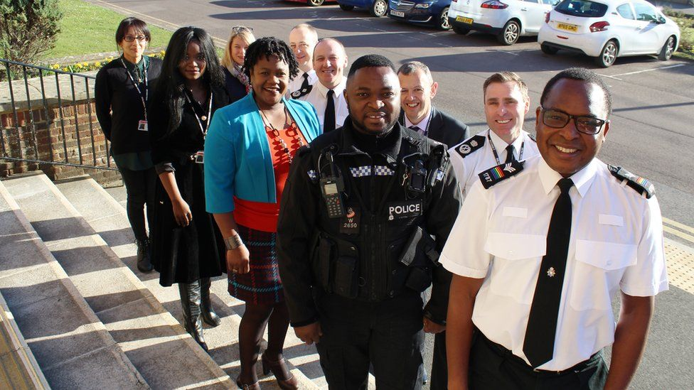 The first cohort of the Wiltshire Police BMe reverse mentoring scheme