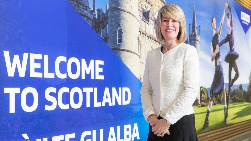 Amanda McMillan, managing director of Glasgow Airport