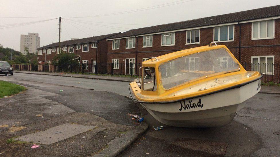 Collyhurst boat
