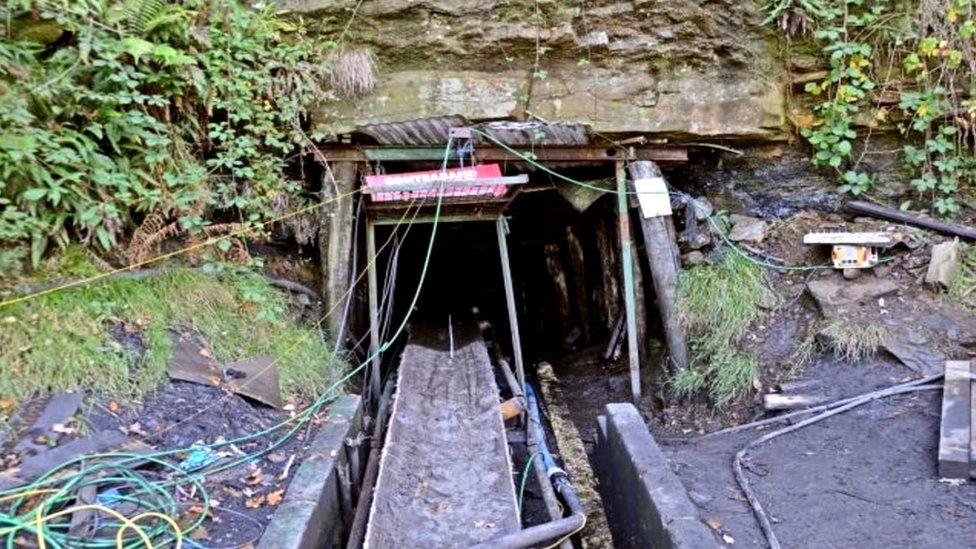 Gleision mine exterior