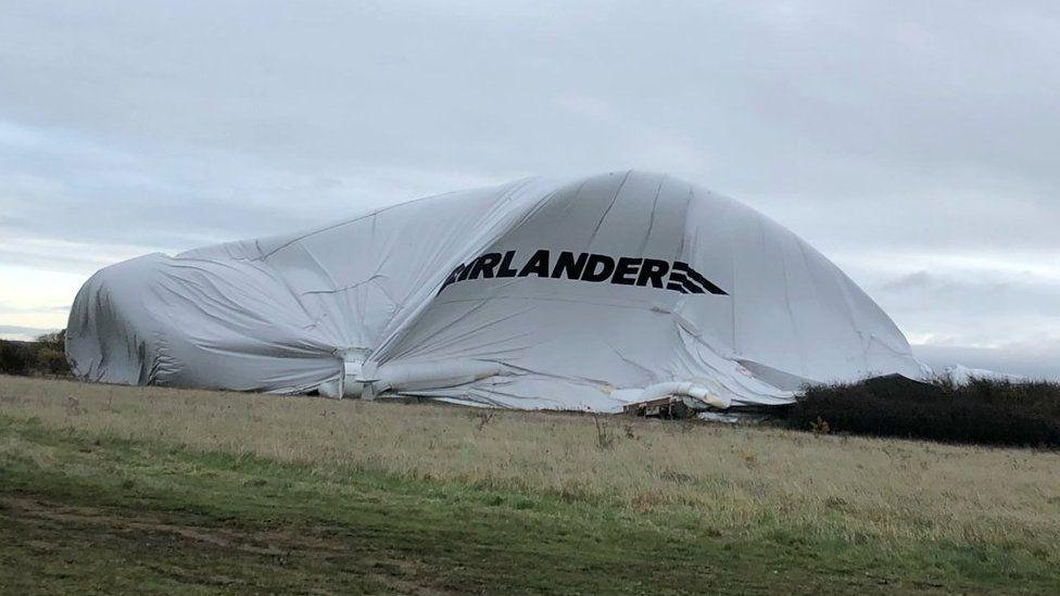 Crashed Airlander