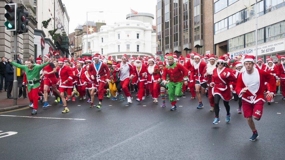 Santa Dash 2015