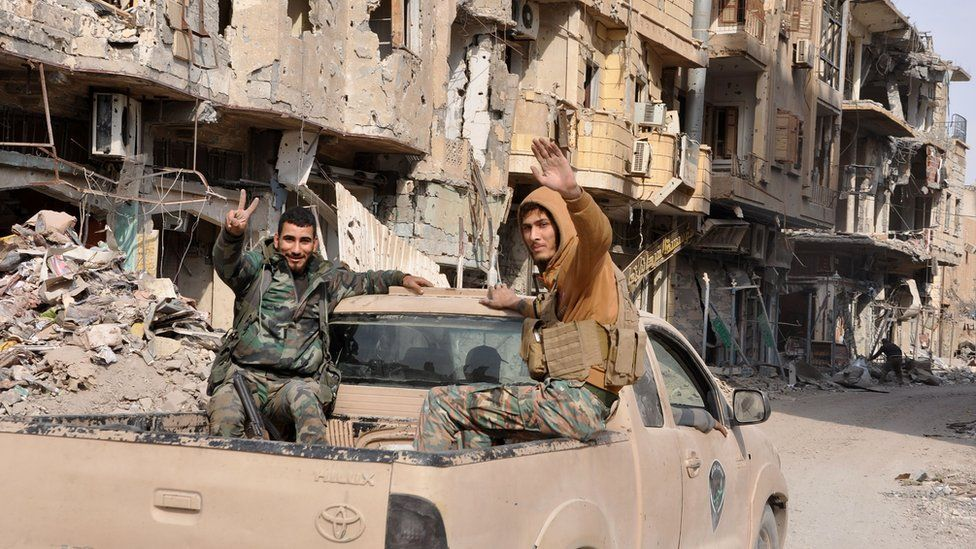 Syrian pro-government forces in Deir al-Zour