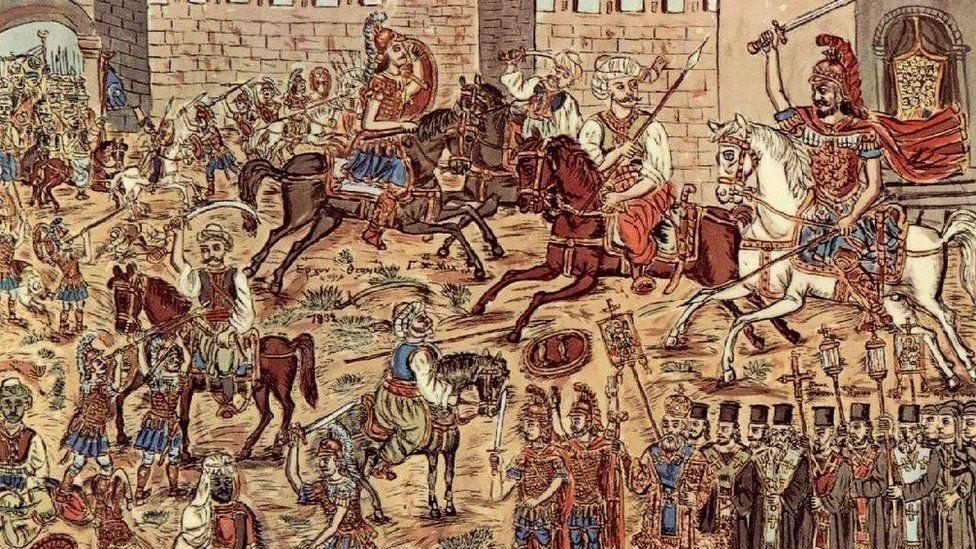جنگ کا منظر