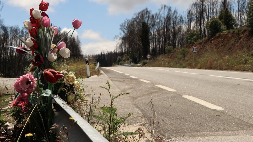 Residents called this stretch the road of death where more than 40 people died