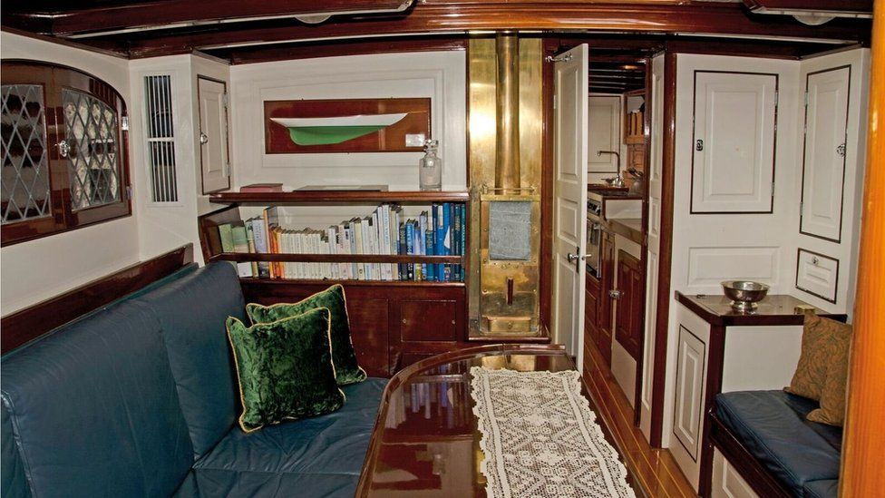 A view of the cabin of the Mary Rose