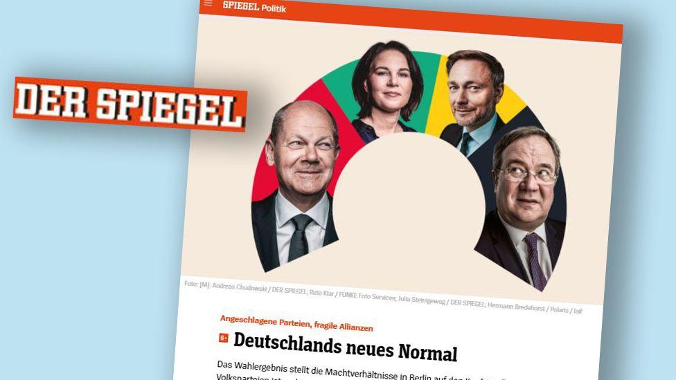 Article in Gerrman Der Spiegel magazine