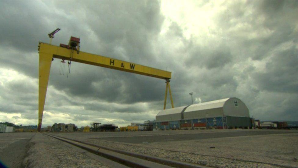 Harland and Wolff shipyard