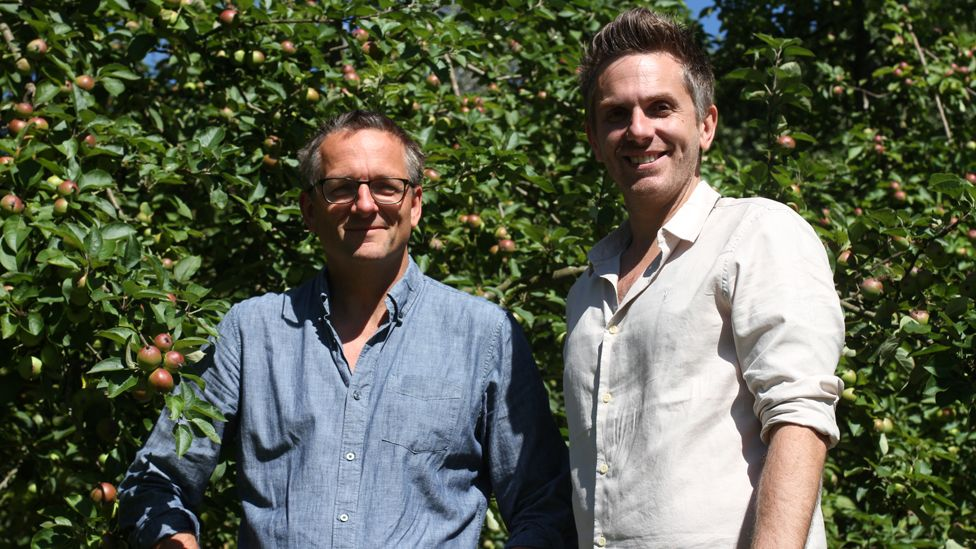 Michael Mosley and Dr James Brown