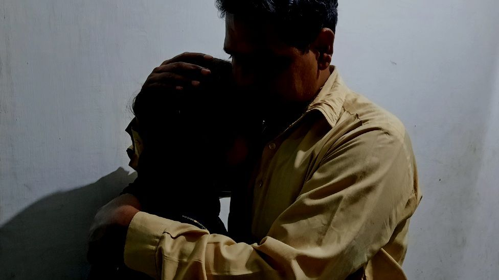 Farah and her father