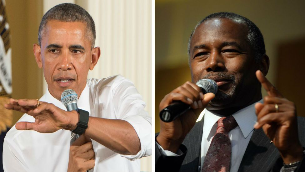 Obama and Carson