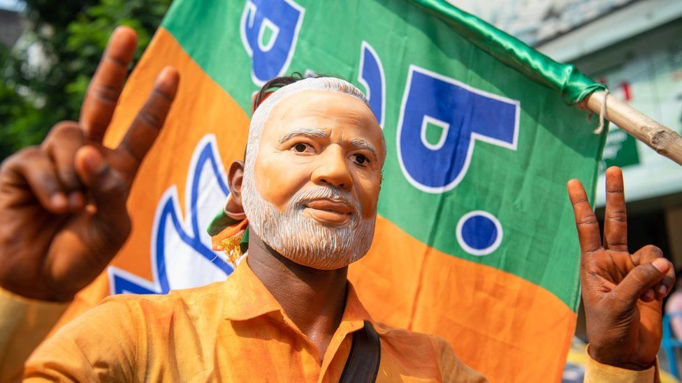 Mr Modi has a huge fan base across the country