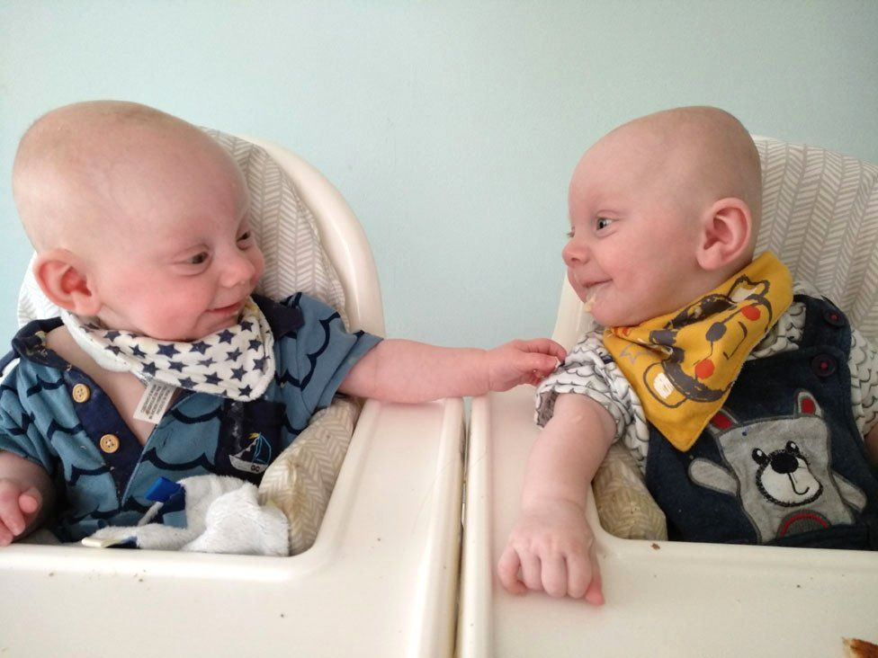 Reece and Luca