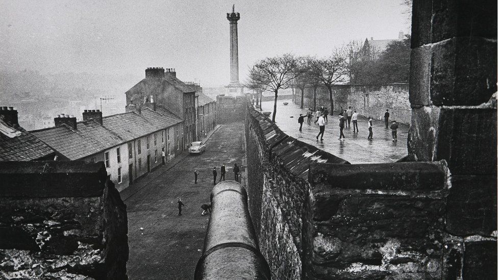 Derry Walls in 1969