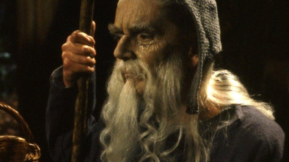 Robert Eddison as Merlin in The Legend of King Arthur