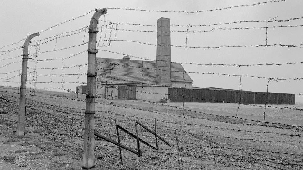The crematorium at Buchenwald