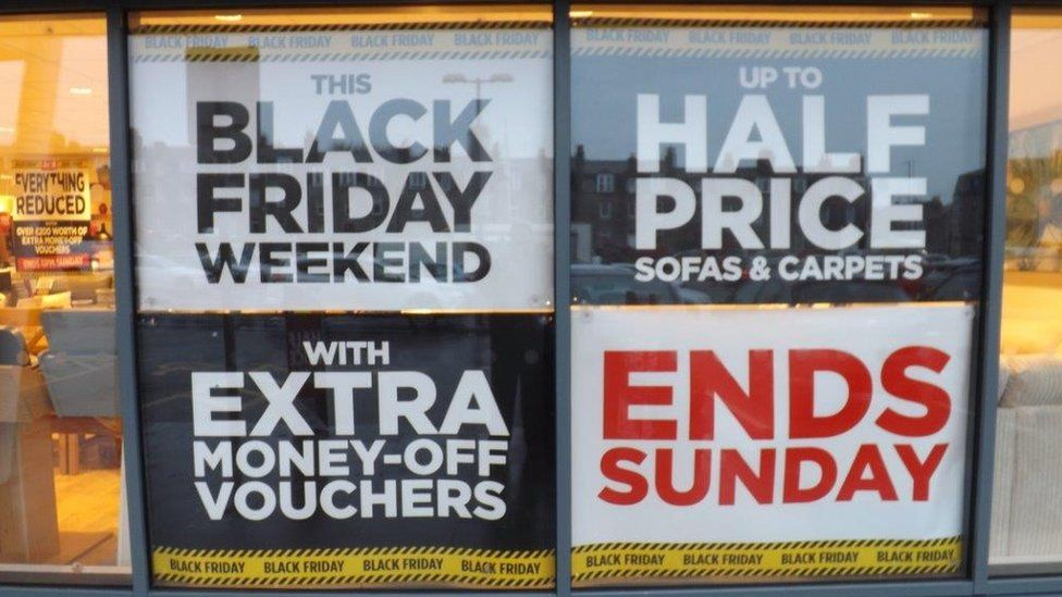 Black Friday Brands Opt Out For Environment Reasons Bbc News