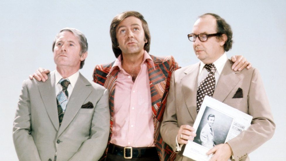 Des O'Connor with Morecambe & Wise