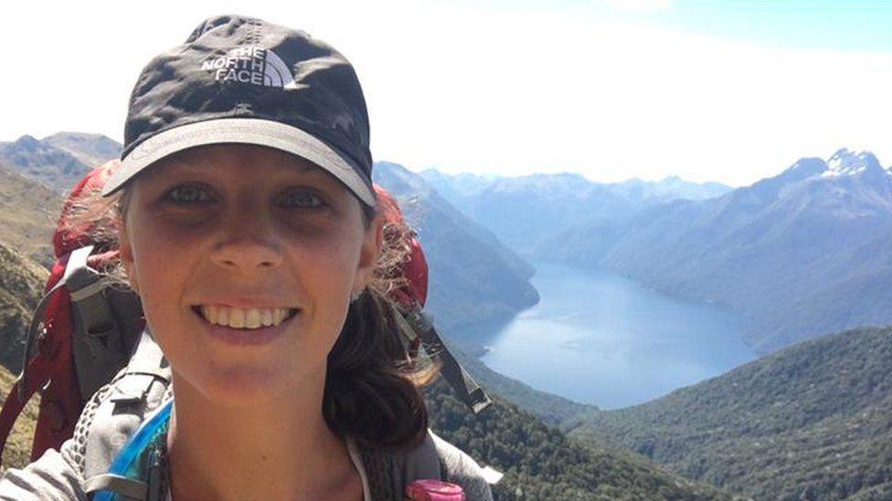 Amy Stanton in New Zealand