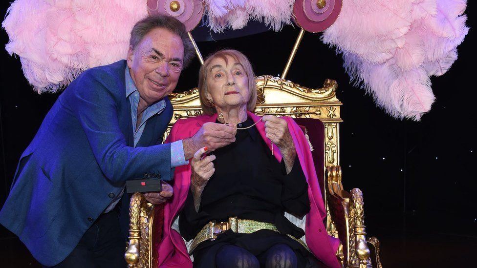 Andrew Lloyd Webber and Dame Gillian Lynne