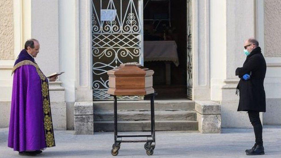 Italian funeral