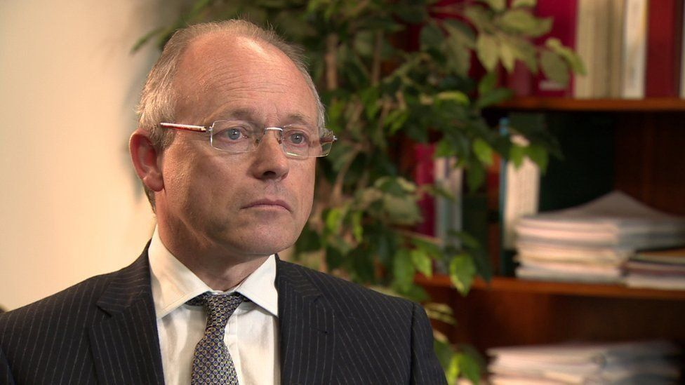 Former director of public prosecutions, Barra McGrory