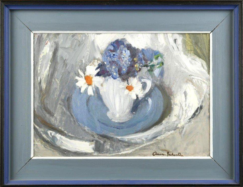 Blue Plate - Anne Redpath