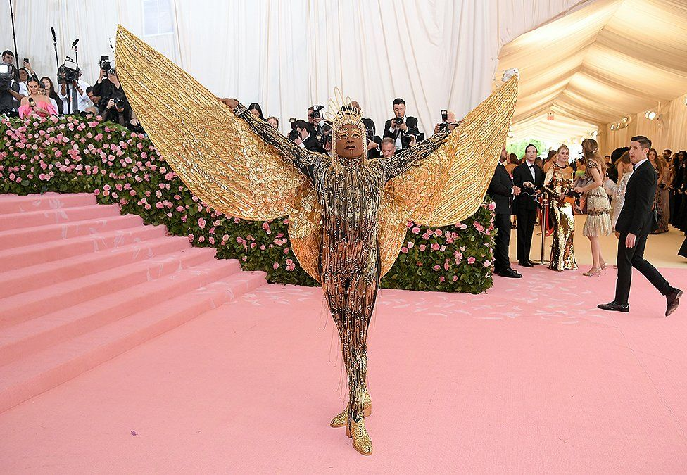 Billy Porter at the Met Gala in an Egyptian-inspired outfit