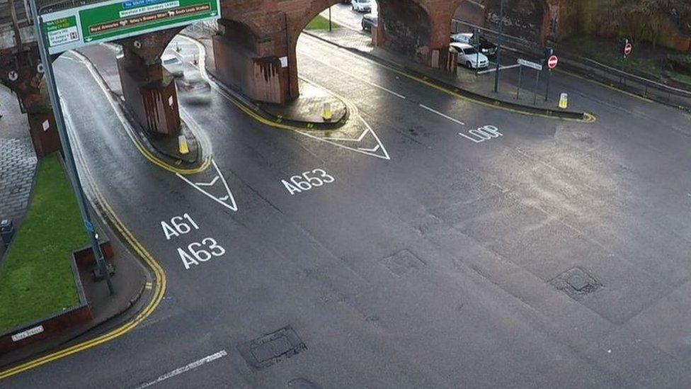 Duke Street junction Leeds