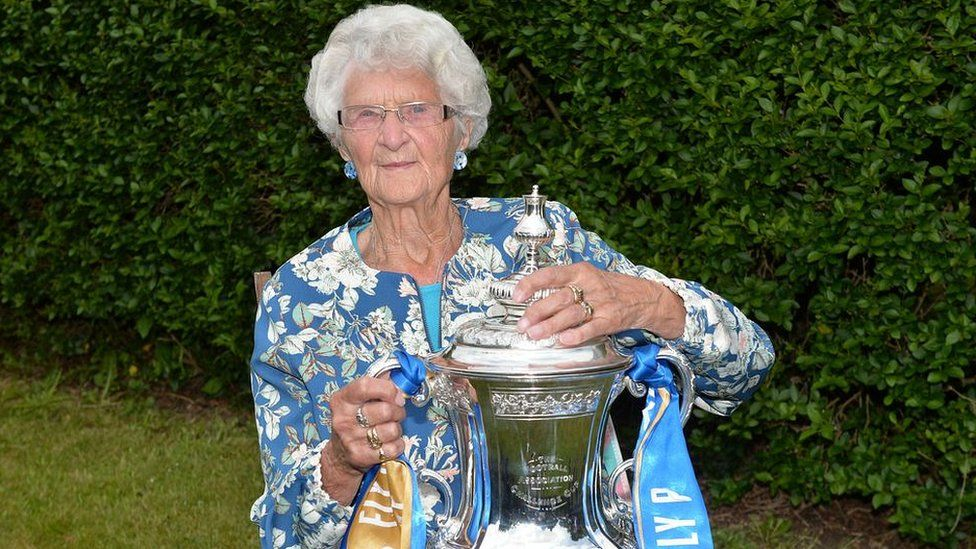 Margaret Angell and the FA Cup