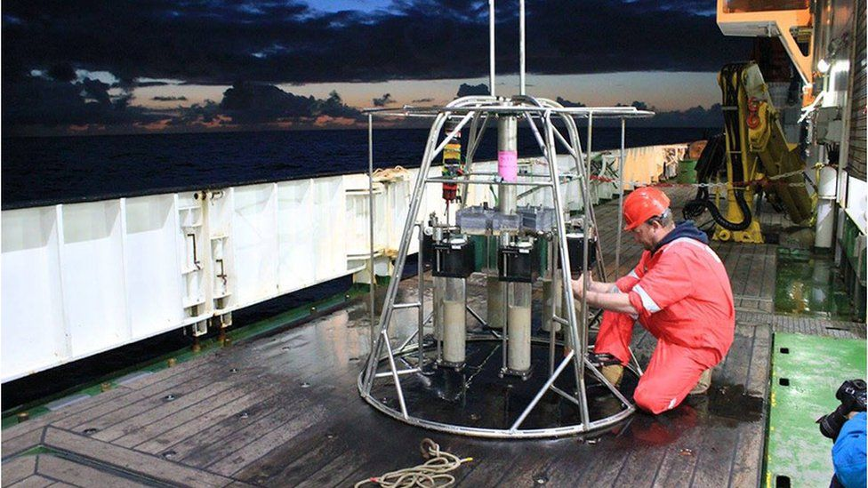 Seabed research drilling