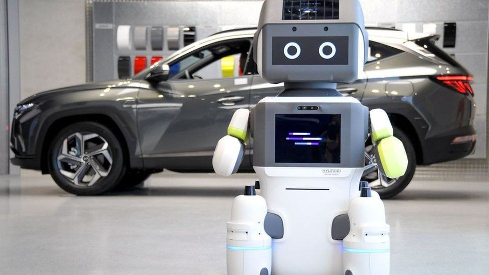Hyundai has built its own humanoid robot called DAL-e