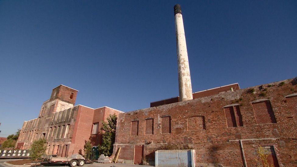 Old Swift Denim mill