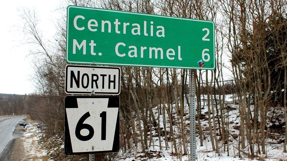Лише нечисленні дорожні знаки тепер нагадують про існування Сентралії. Її поштовий індекс - 17927 - ліквідували ще в 2003 році