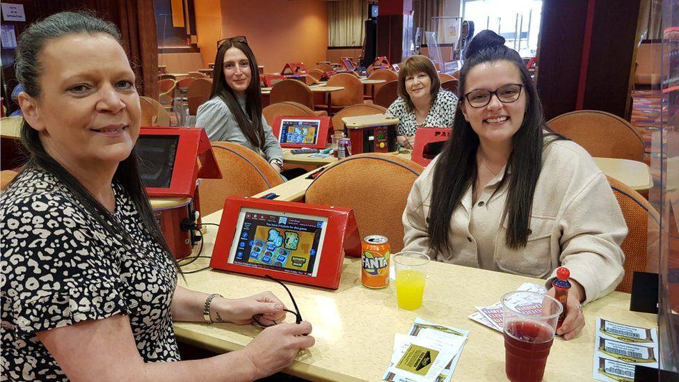 (L-R) Helen Liddle, Laura Crawford, Anne Keer and Chloe Payne