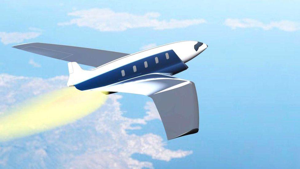 Авиалайнер будущего: из Лондона до Новой Зеландии за полчаса