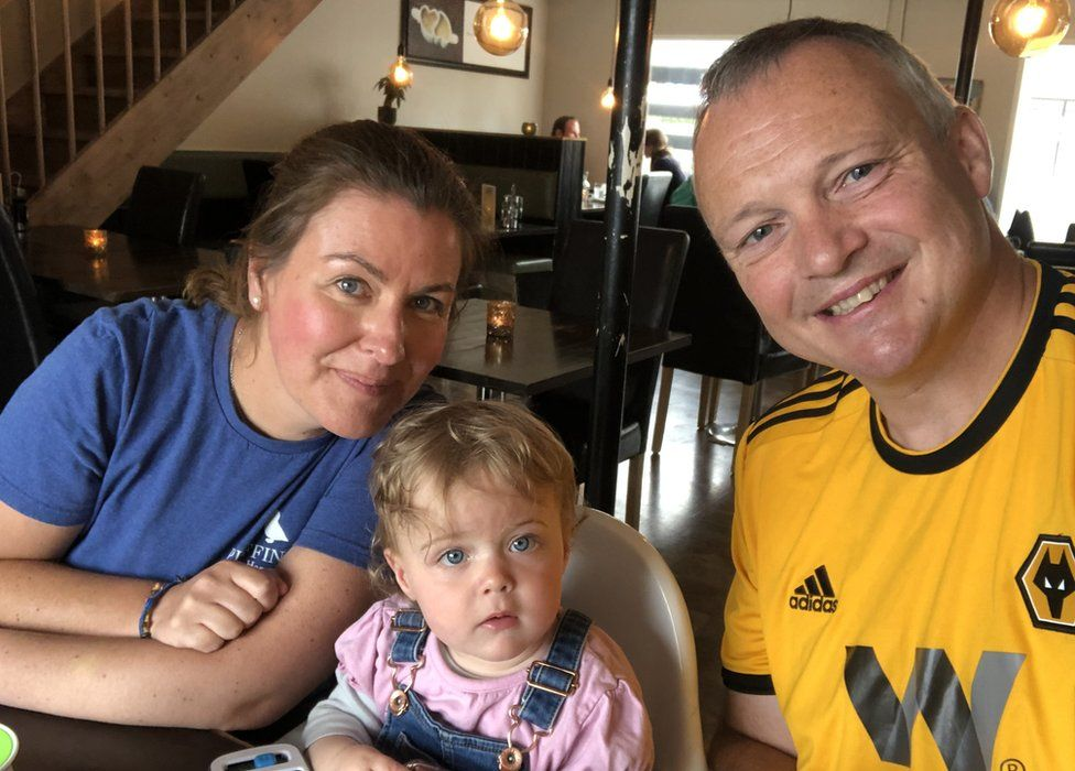 Stephen Fadian with wife Diana and daughter Edie
