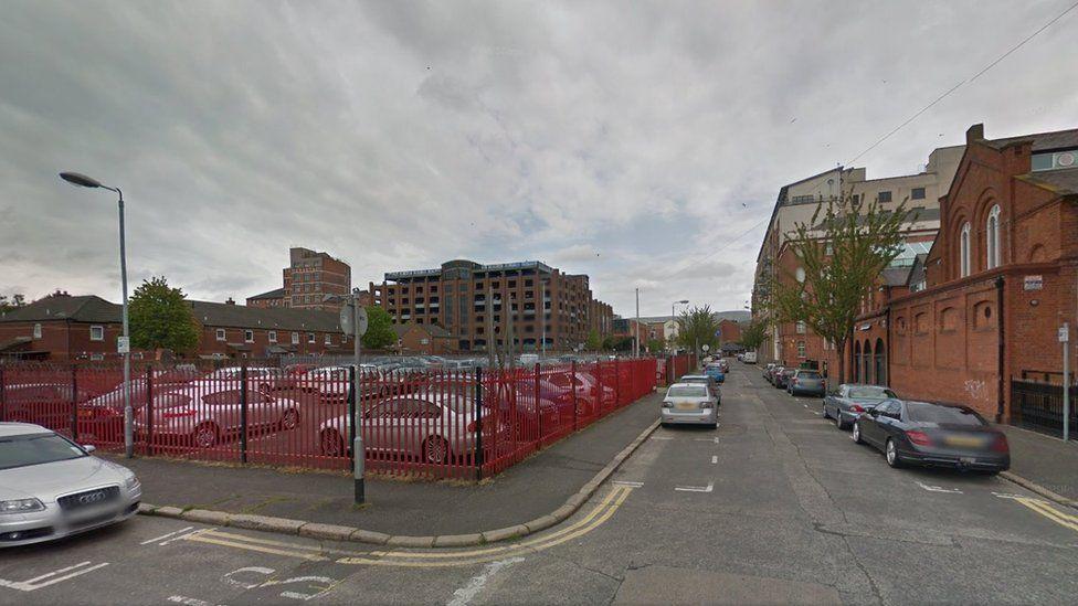 Bankmore Street in Belfast city centre
