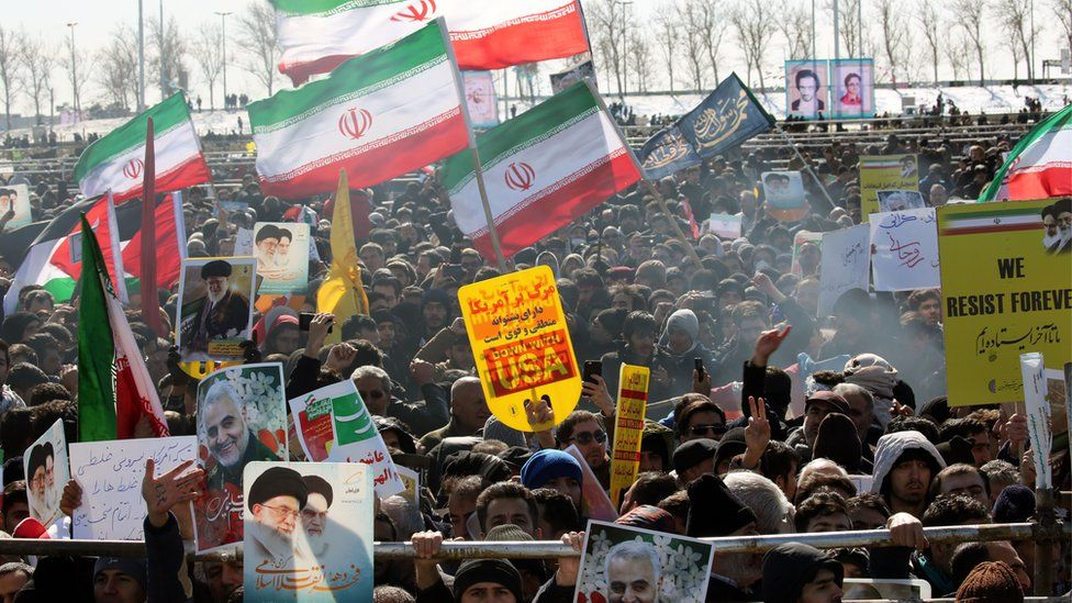 Iran marks the Islamic Revolution anniversary in Azadi (Freedom) square