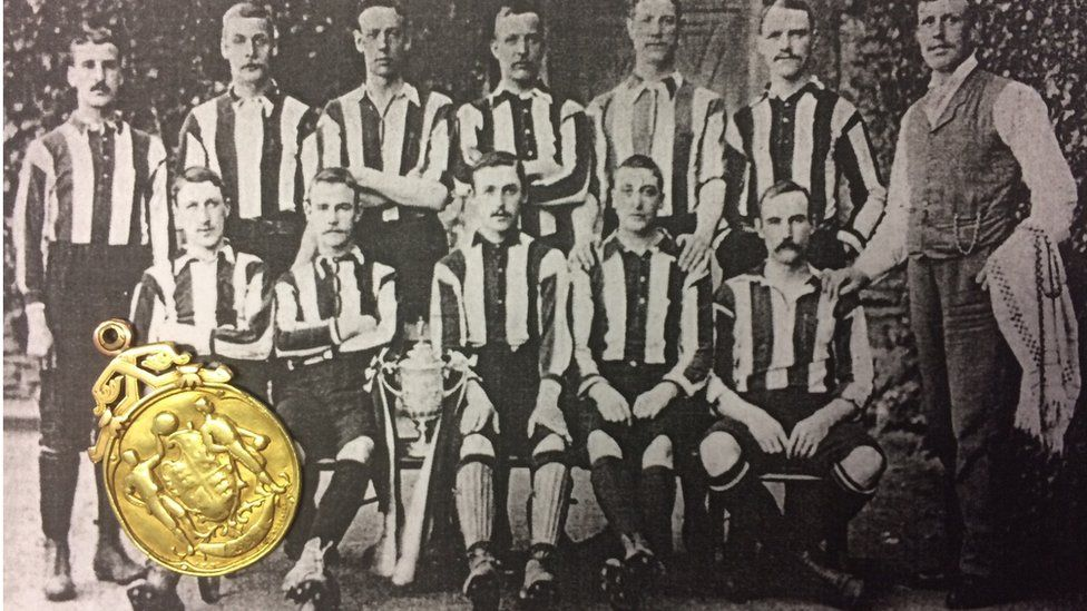 1894 Notts County FA Cup medal