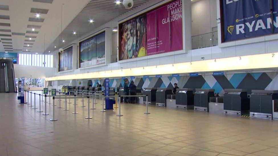 The plan seeks to improve the passenger experience at Prestwick