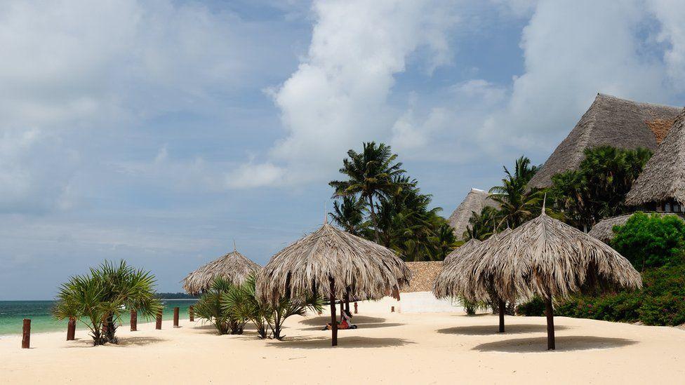 A beach resort in Malindi